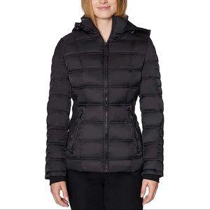 Nautica • NWT Black Water Resistant Puffer Coat
